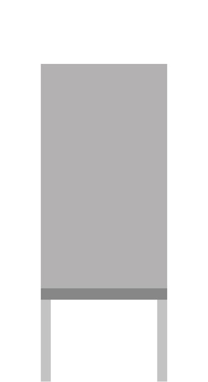 Standard-Stele aus Aluminium